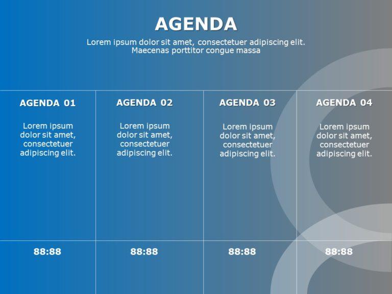 Agenda Slide 21