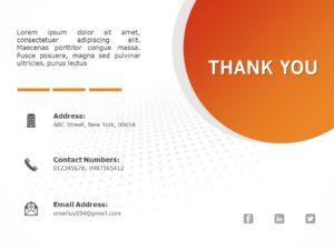 Thank You Slide 09