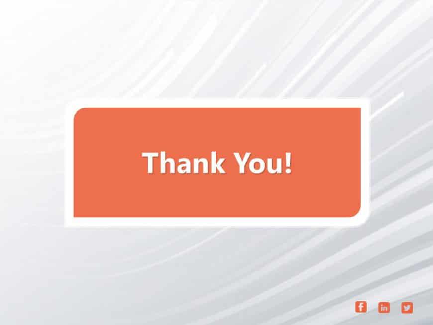 Thank You Slide 19