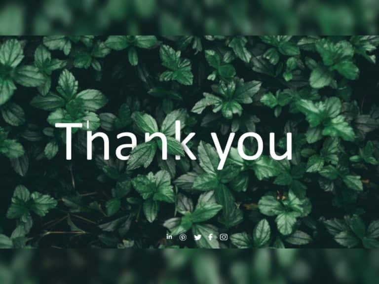 Thank You Slide 23