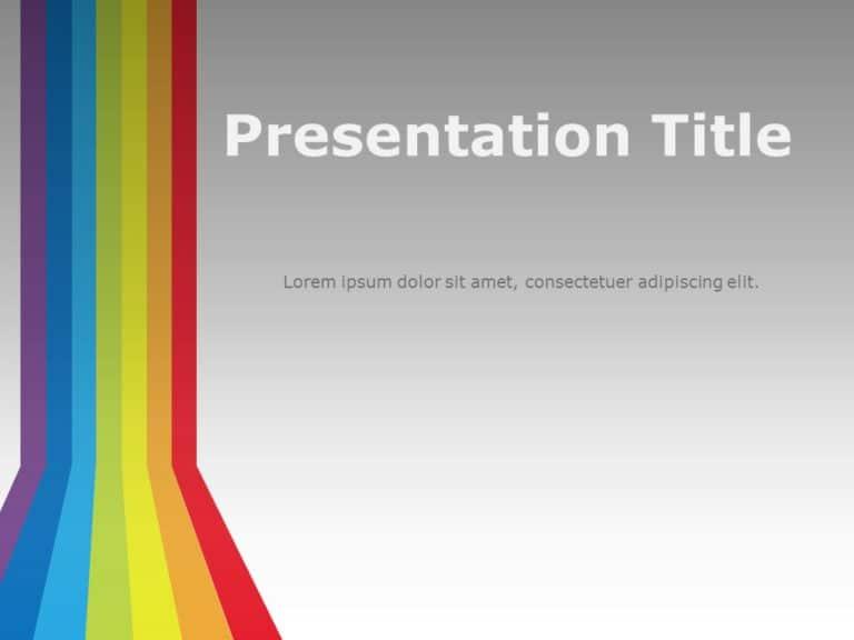 Rainbow Presentation Cover