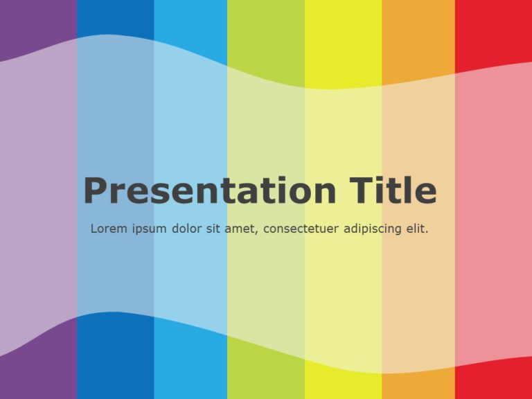 Rainbow Presentation Title