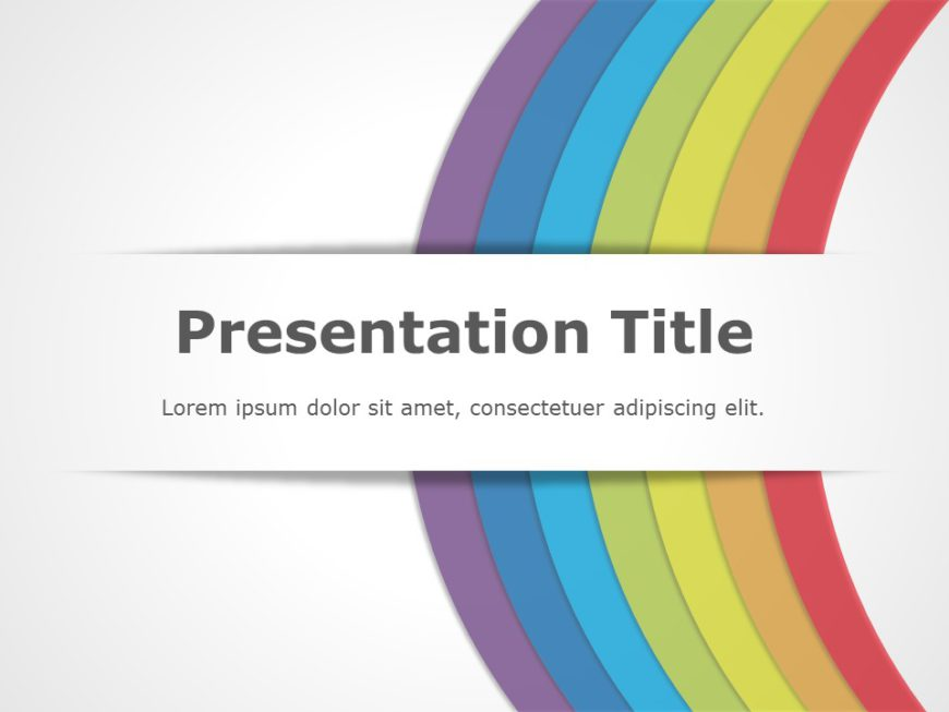 Rainbow Presentation Title 01