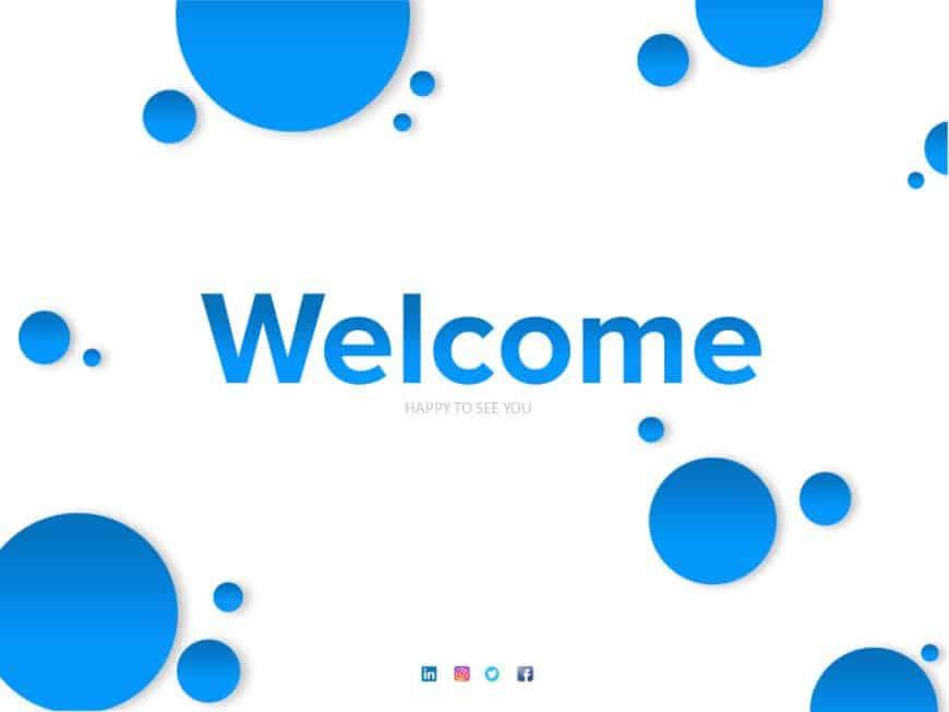 Welcome Slide 10
