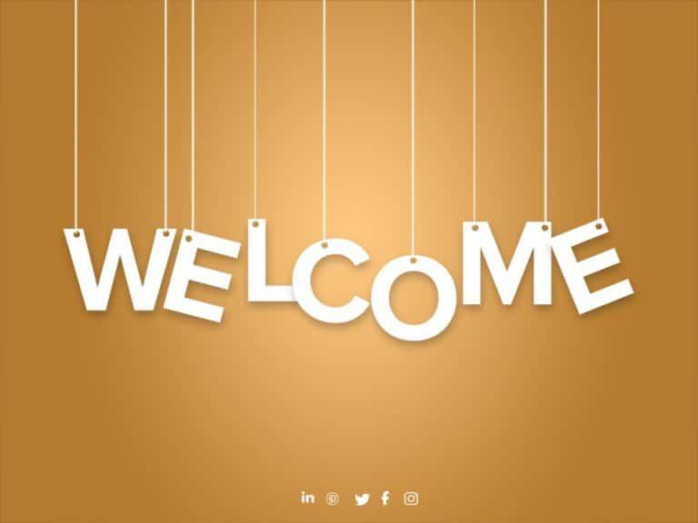 Welcome Slide 12
