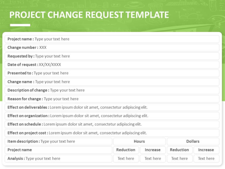 Project Change Log 04