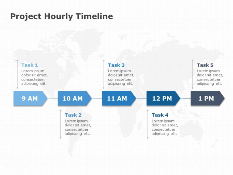 Project Hourly Timeline