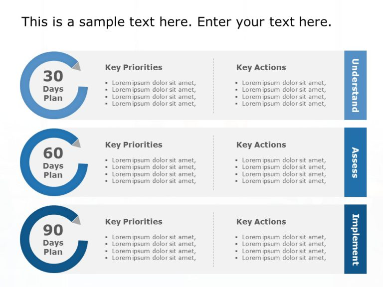 Animated 30 60 90 Day Plan Powerpoint Template 24