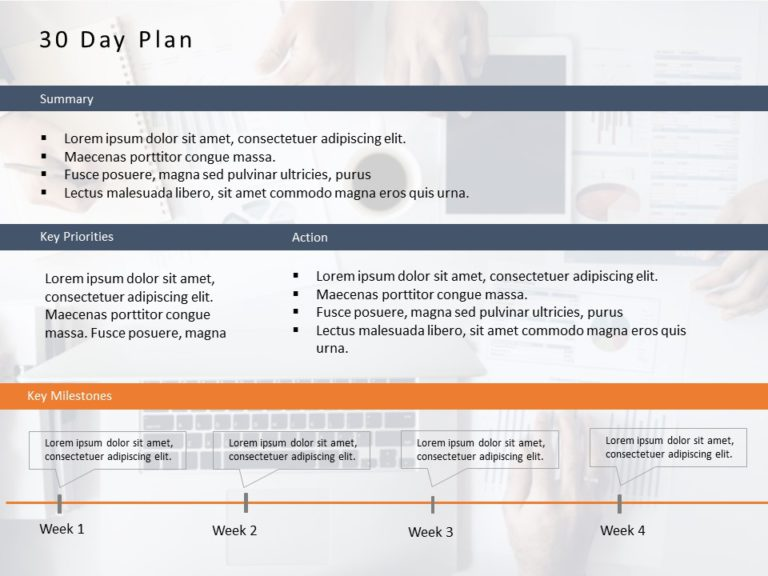 Animated 30 60 90 Day Plan Powerpoint Template 6