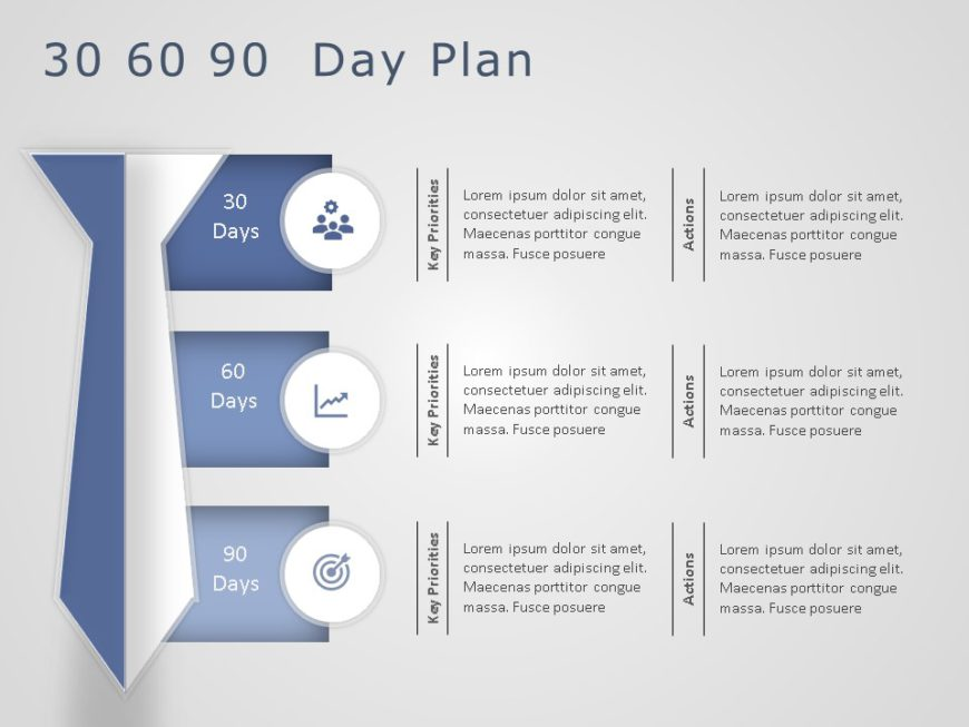 Animated 30 60 90 Day Plan Powerpoint Template 8
