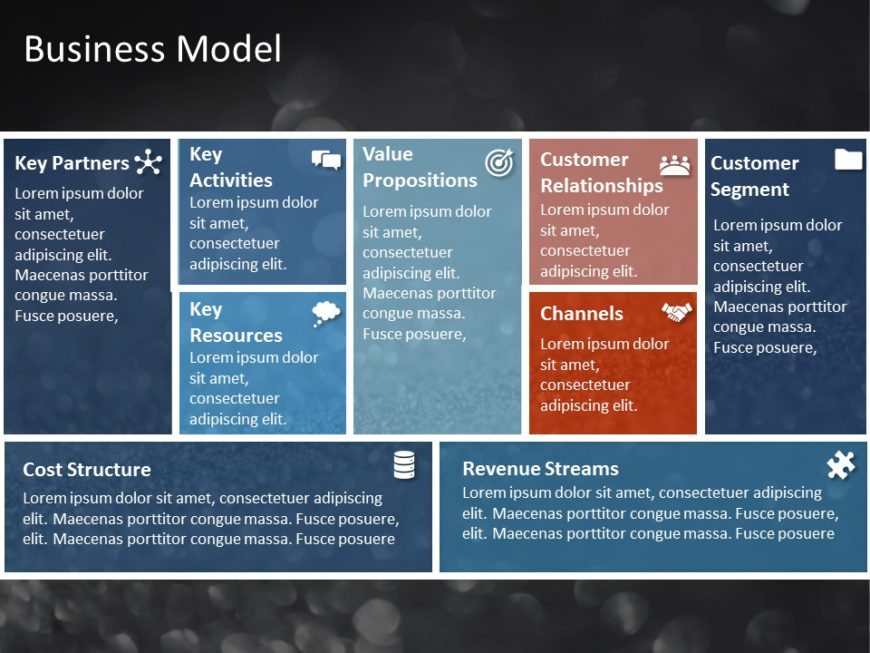 Animated Business Model PowerPoint Template 2