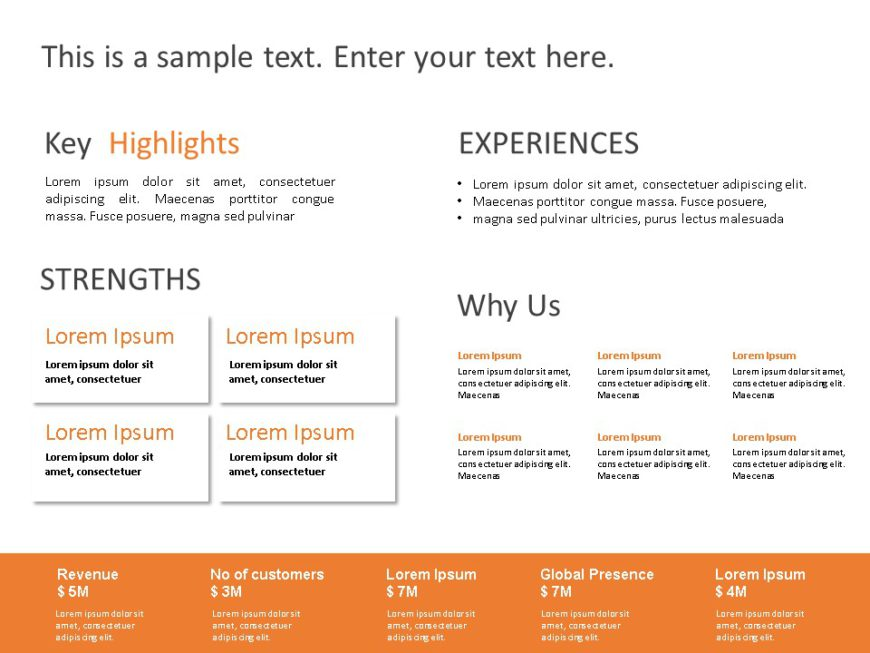 Animated Business Proposal Summary PowerPoint 1