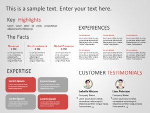 Animated Business Proposal Summary PowerPoint