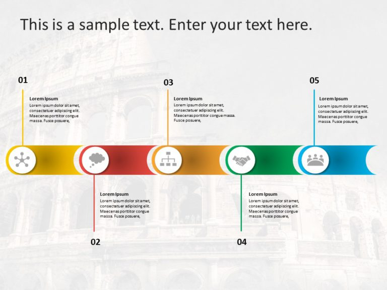 Animated Business Roadmap PowerPoint Template 16