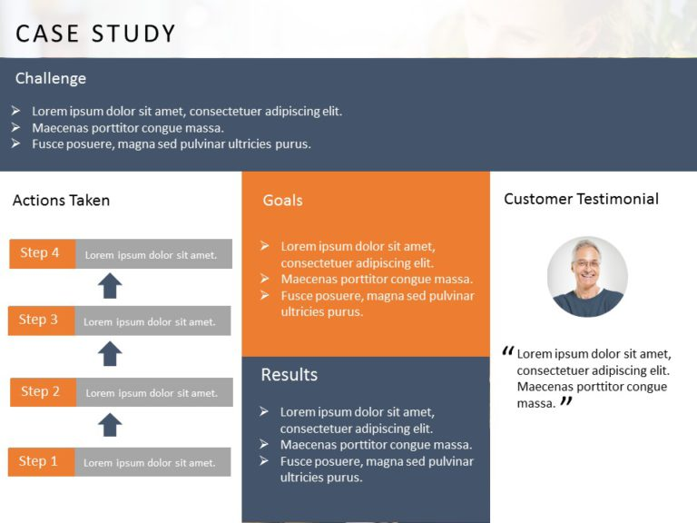 Animated Case Study PowerPoint Template 17
