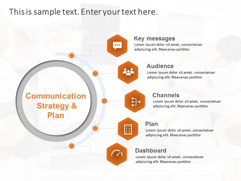 Animated Communication Plan PowerPoint Template