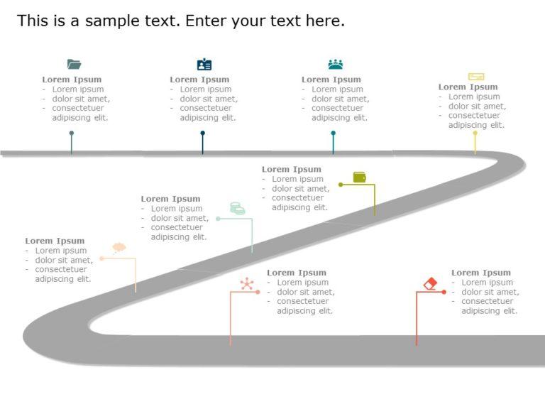 Animated Customer Journey Roadmap Template 1