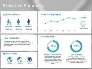 Animated Executive summary PowerPoint Template 13