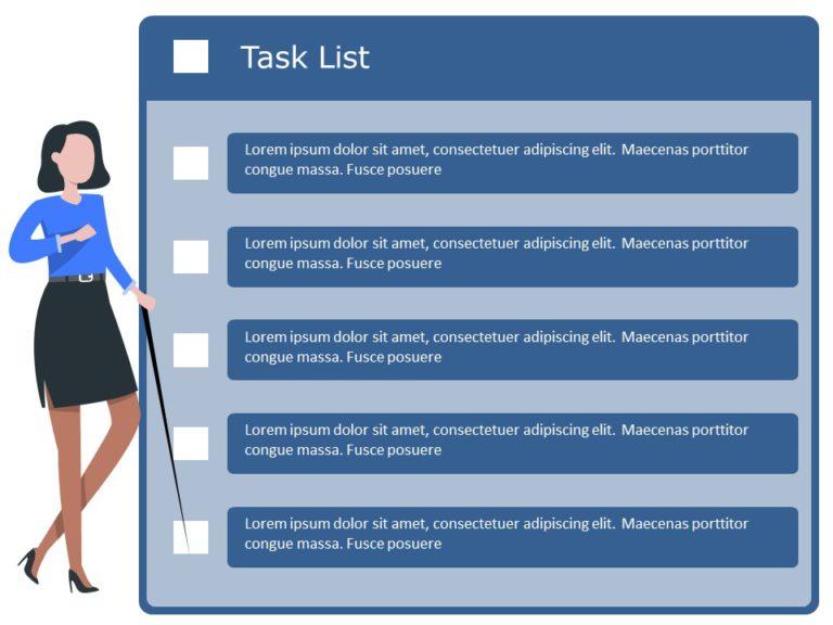 Animated Project Task List