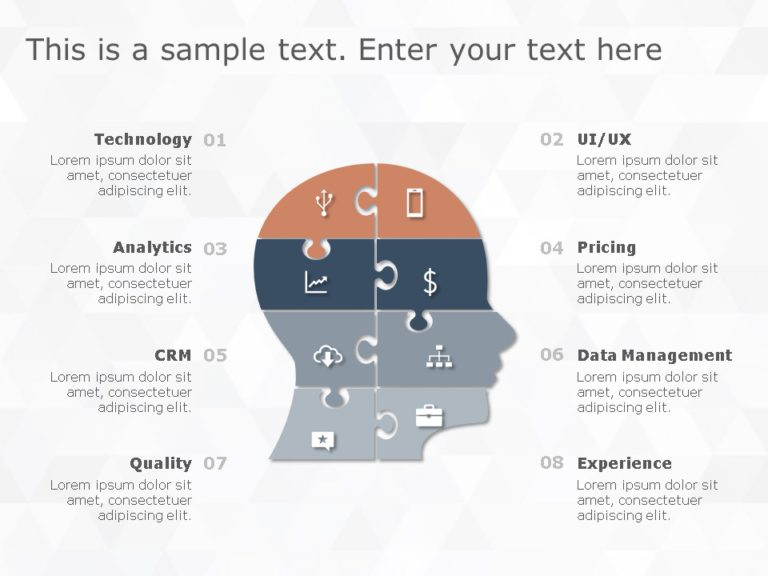 Animated Puzzle PowerPoint Diagram