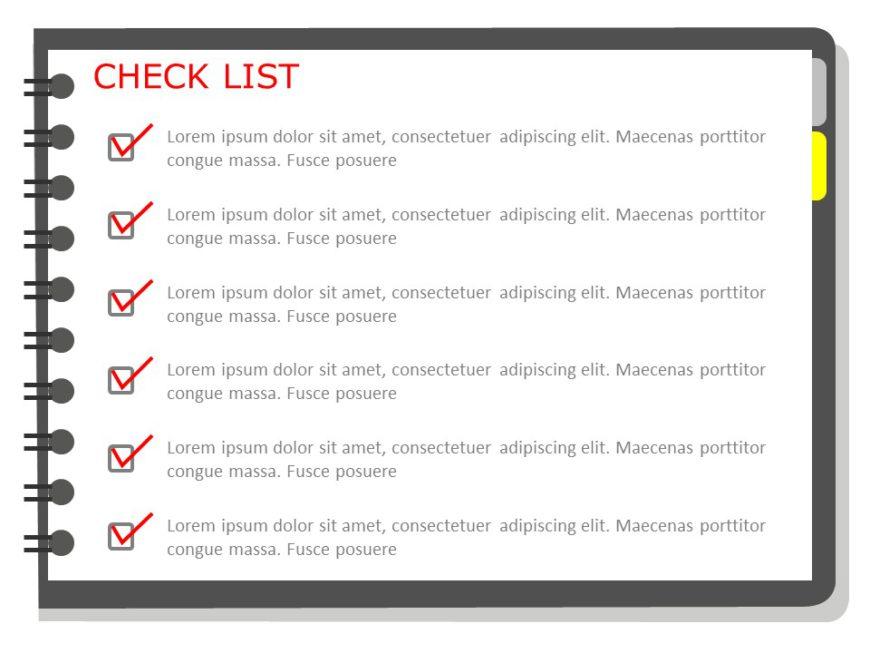 Animated Task Check List