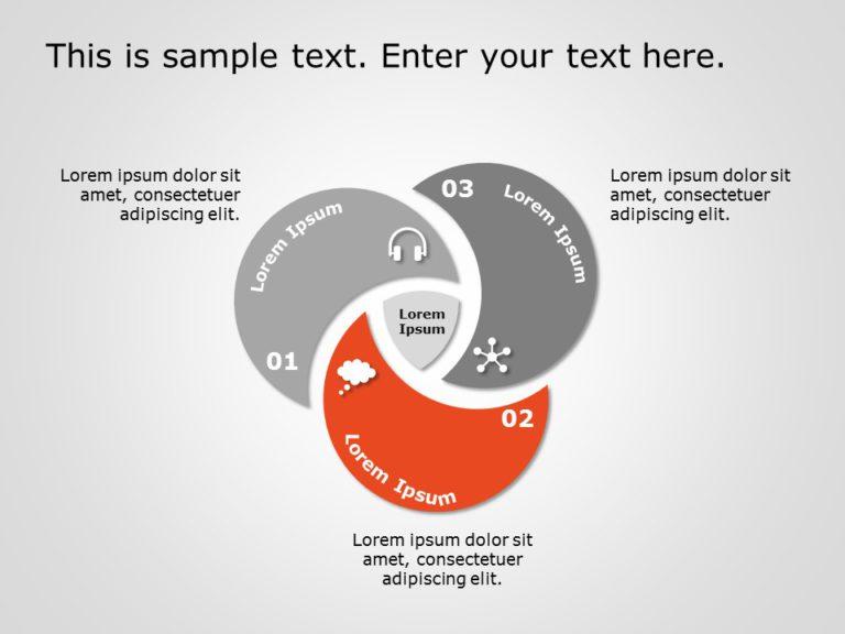 Animated Venn Diagram PowerPoint 9