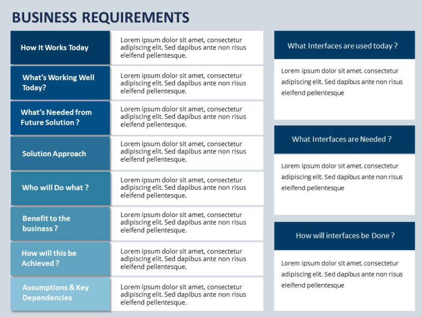 Business Requirements 01