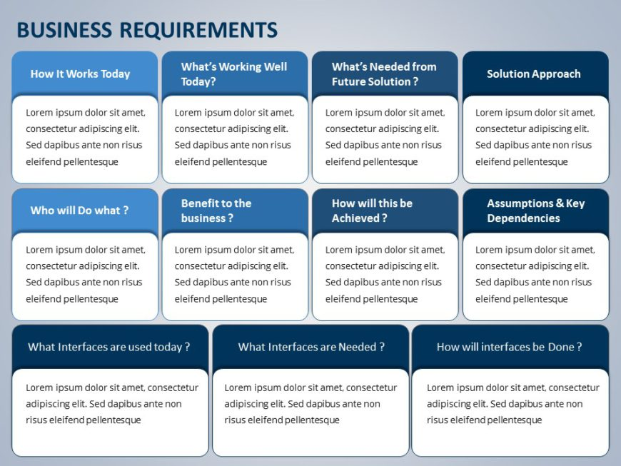 Business Requirements 07