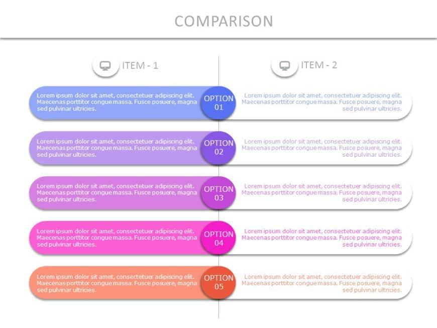 Comparison Slide 01
