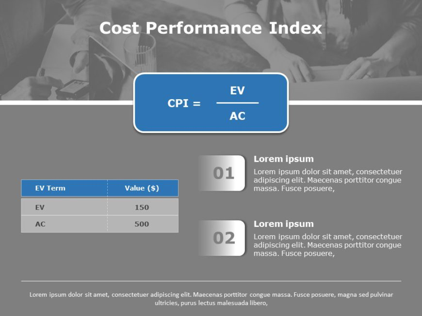 Cost Performance Index 04