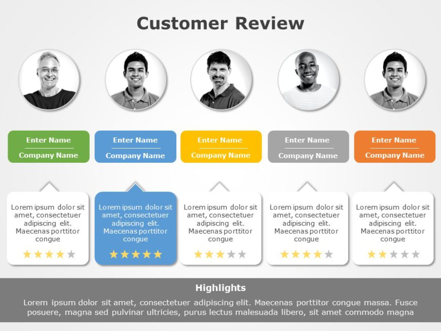 Customer Review 01