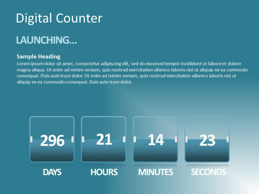 Digital Counter 01