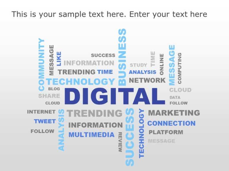 Digital Word Cluster