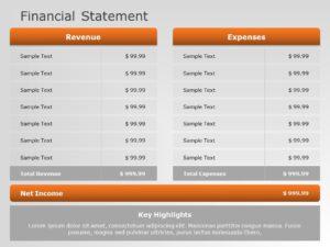 Financial Statement 01