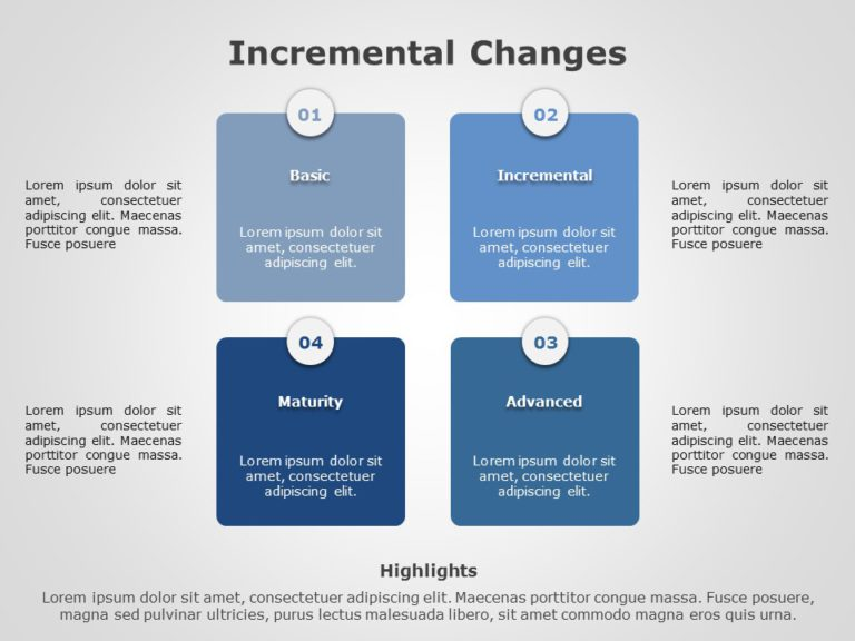 Incremental Changes 03