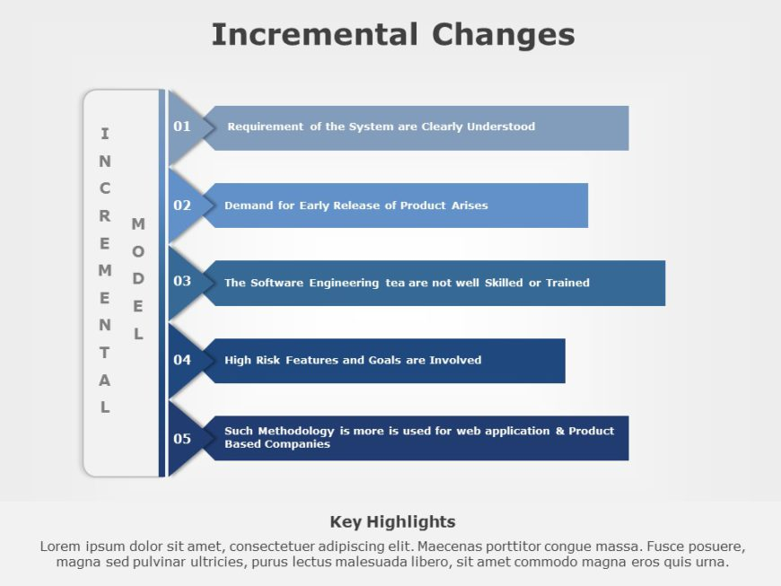 Incremental Changes 05