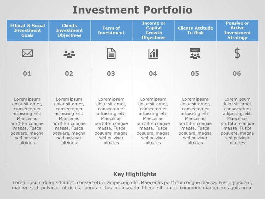 Investment Portfolio 03