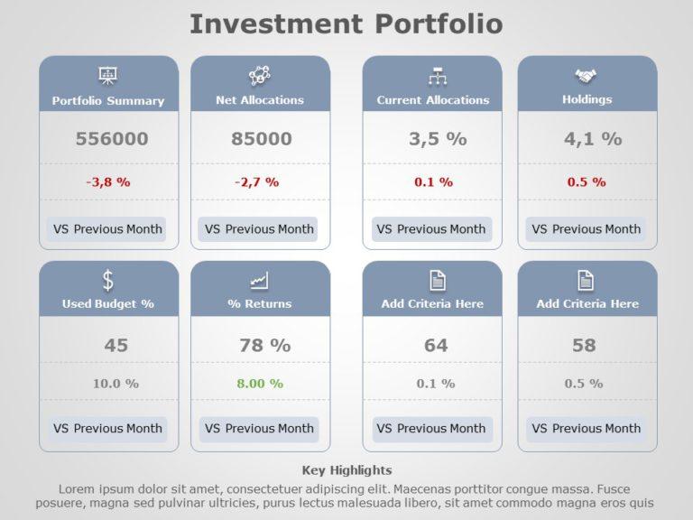 Investment Portfolio 08