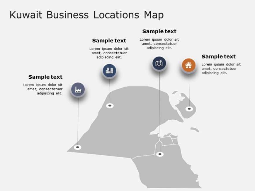 Kuwait Map Locations