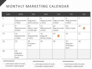 Marketing Calendar 01