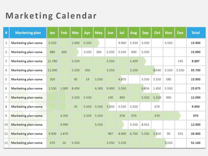 Marketing Calendar 06