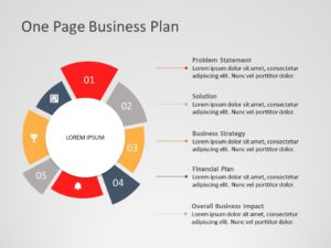 One Page Business Plan 01