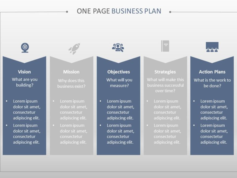 One Page Business Plan 02