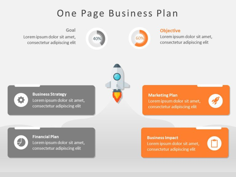 One Page Business Plan 03