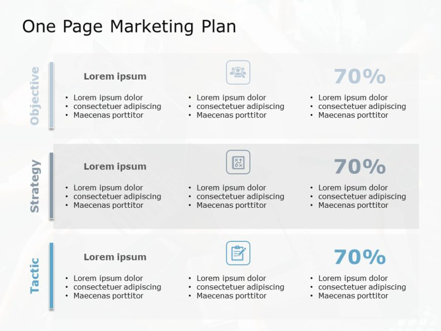One Page Marketing Plan 02