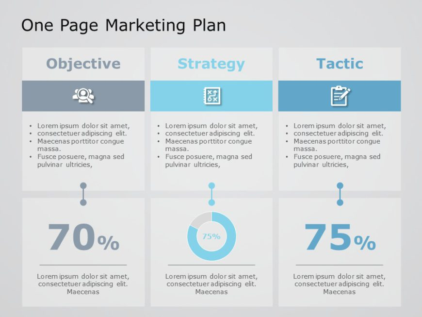 One Page Marketing Plan 03