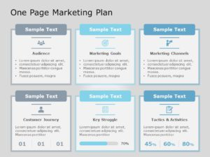 One Page Marketing Plan 04