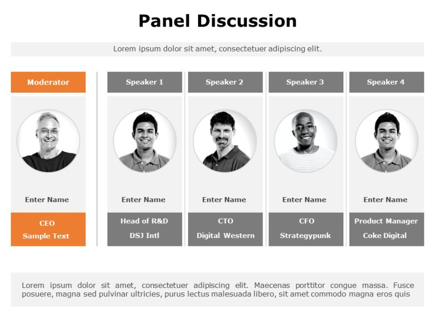 Panel Discussion 01