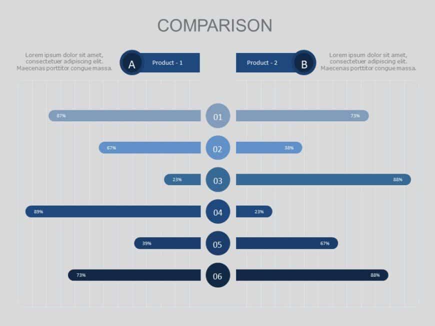 Product Comparison Slide