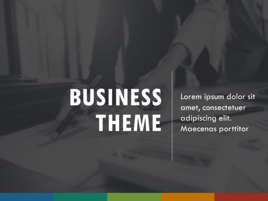 Professional PowerPoint Theme & Background